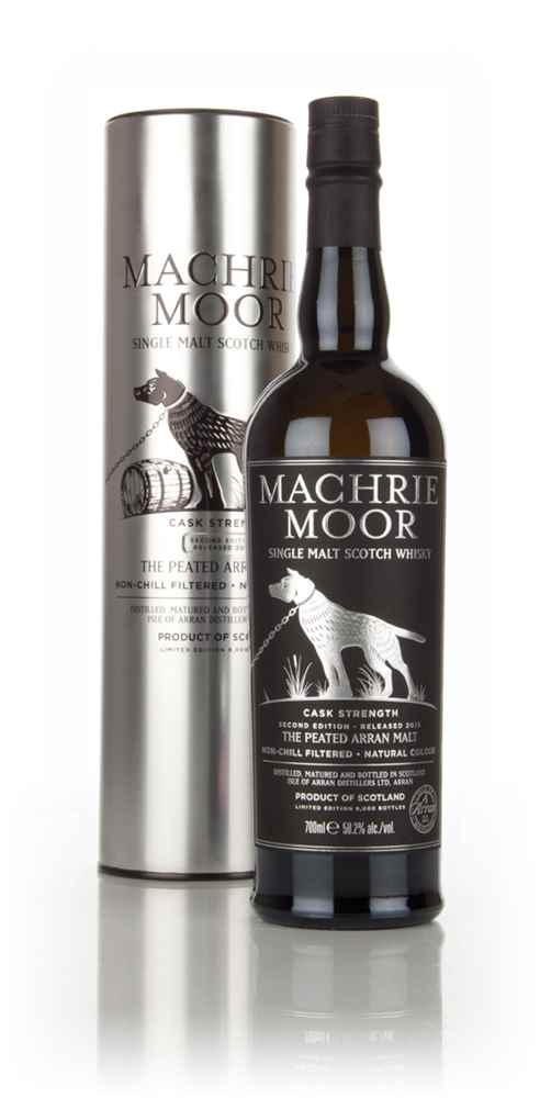 Arran Machrie Moor Peated Cask Strength - Second Edition