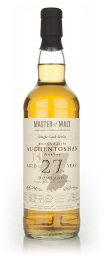 Auchentoshan 27 Year Old - Single Cask (Master of Malt)