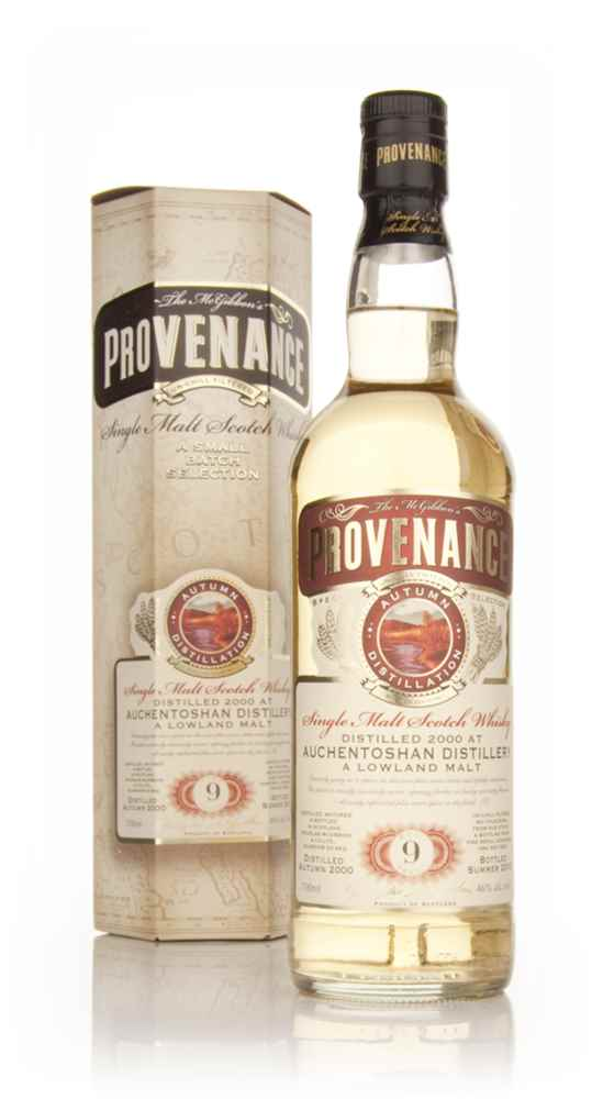 Auchentoshan 9 Year Old 2000 - Provenance (Douglas Laing)