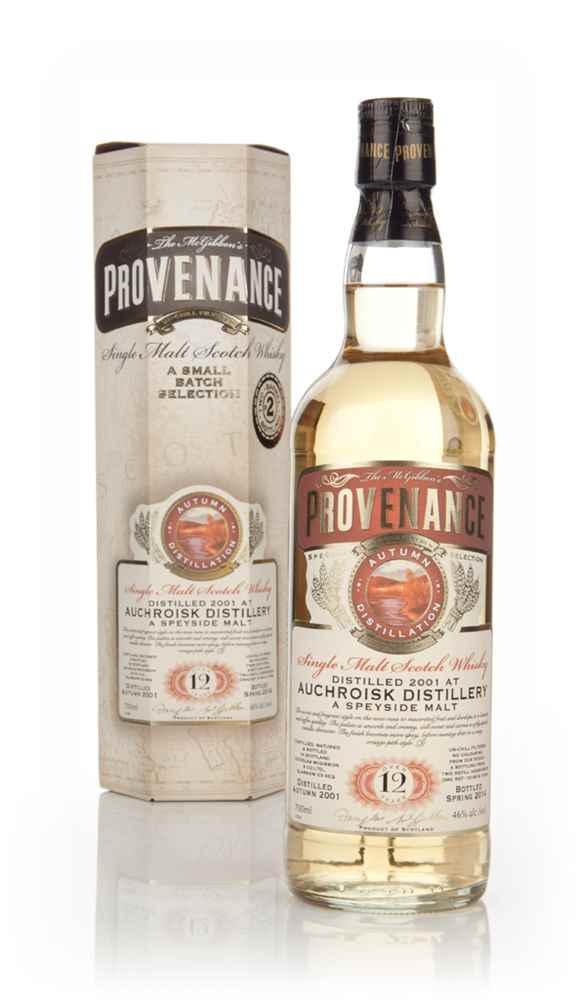 Auchroisk 12 Year Old 2001 (casks 10190+10193) - Provenance (Douglas Laing)