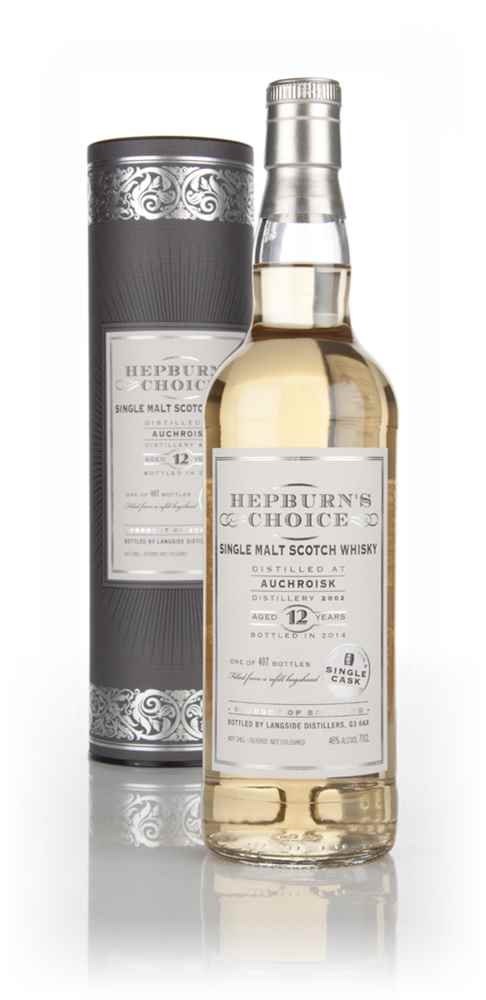 Auchroisk 12 Year Old 2002 - Hepburn's Choice (Langside)