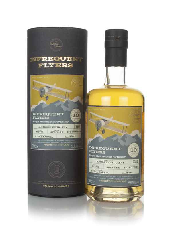 Aultmore 10 Year Old 2010 (cask 800063) - Infrequent Flyers  (Alistair Walker)