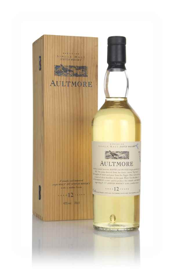 Aultmore 12 Year Old - Flora and Fauna (with Wooden Presentation Box)