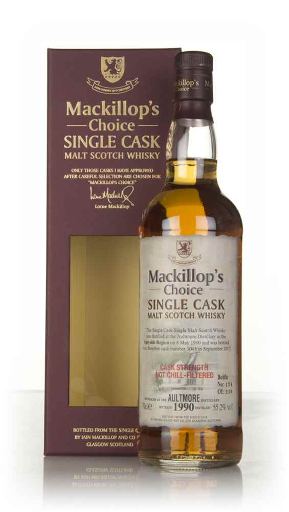 Aultmore 27 Year Old 1990 (cask 3045) - Mackillop's Choice