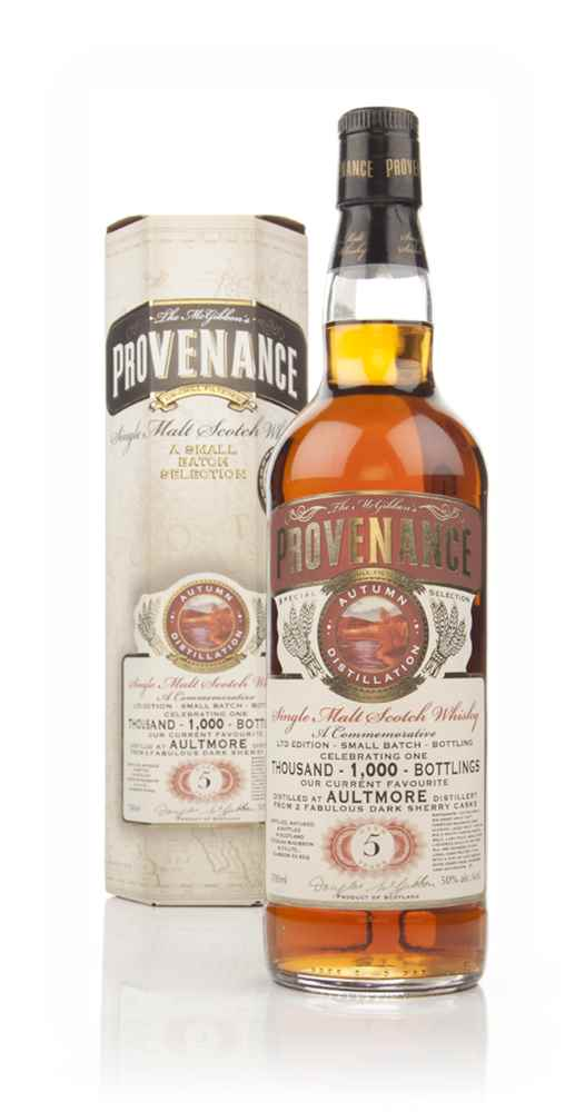Aultmore 5 Year Old - Provenance (Douglas Laing) - Commemorative 1,000th Bottling Edition