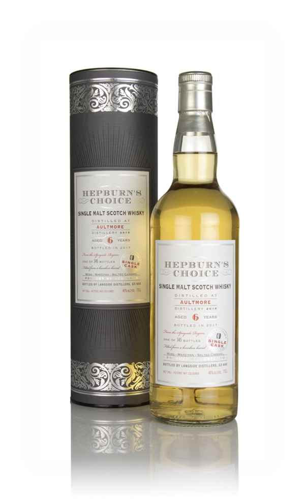 Aultmore 6 Year Old 2010 - Hepburn's Choice (Langside)