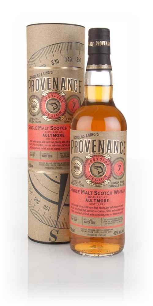 Aultmore 7 Year Old 2008 (cask 11064) - Provenance (Douglas Laing)