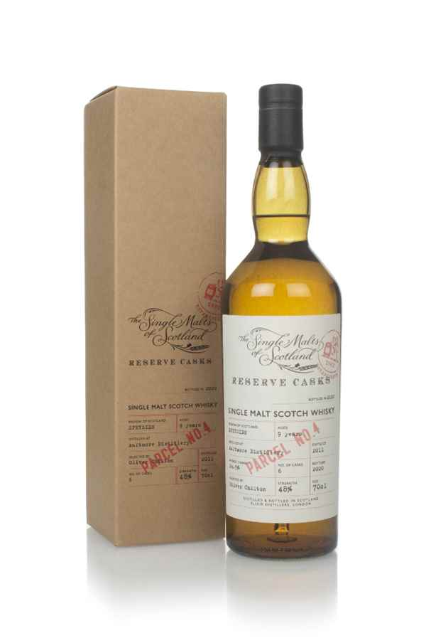 Aultmore 9 Years Old 2011 (Parcel No.4) - Reserve Casks (The Single Malts of Scotland)