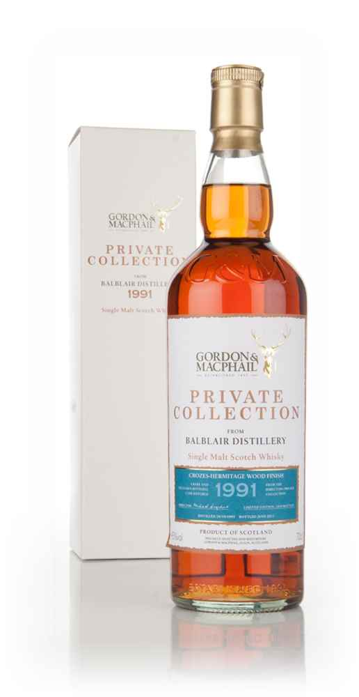 Balblair 20 Year Old 1991 - Private Collection (Gordon & MacPhail)