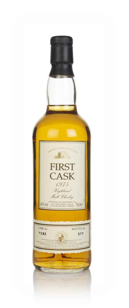 Balblair 22 Year Old 1975 (cask 7283) -  First Cask