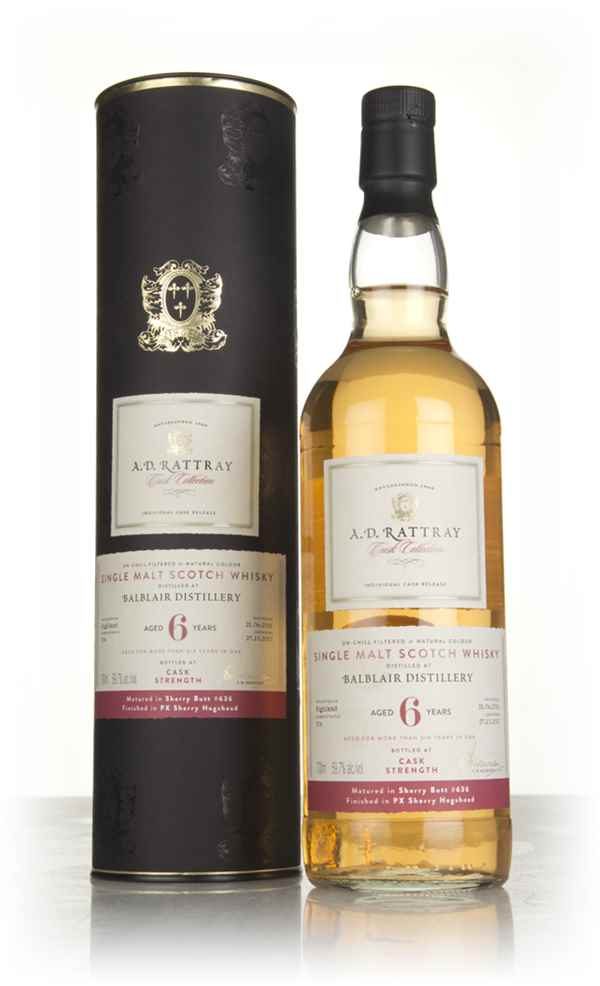 Balblair 6 Year Old 2011 - Cask Collection (A.D. Rattray)