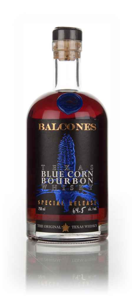 Balcones Texas Blue Corn Bourbon Whisky (64.5%)