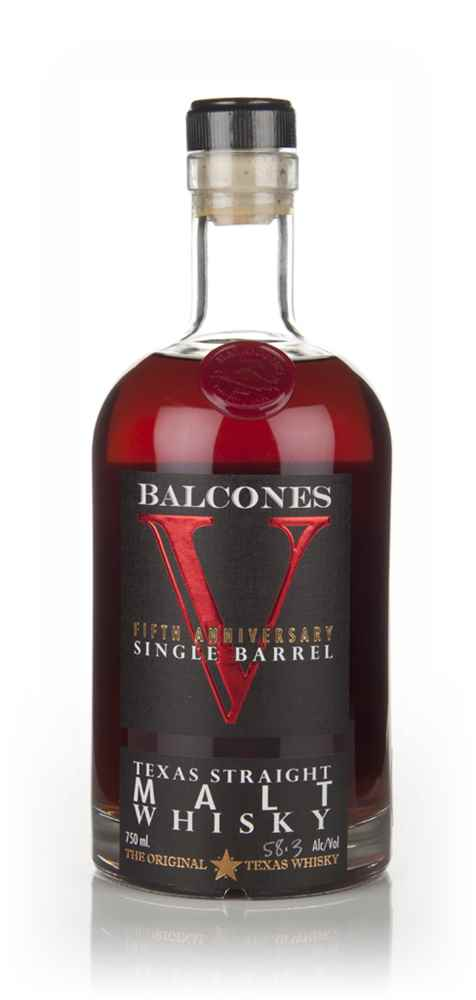 Balcones V Straight Malt Brimstone Resurrection Cask Finish (Barrel 2696)