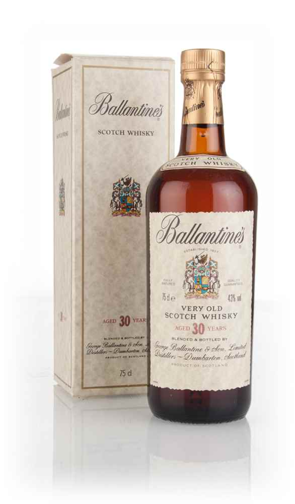 Ballantine's 30 Year Old Blended Scotch Whisky - 1980s