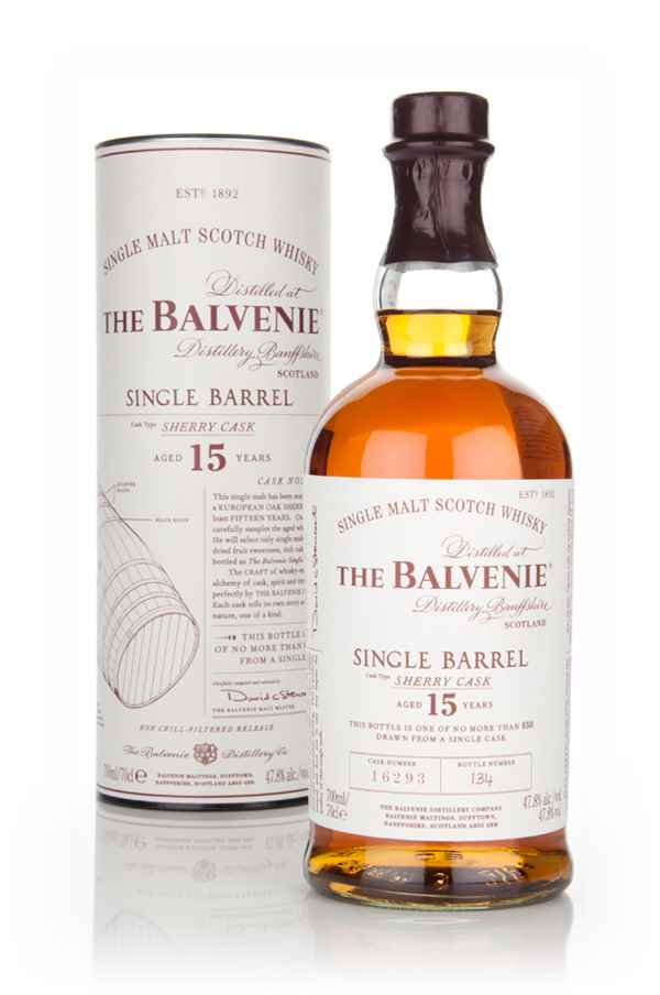 Balvenie 15 Year Old Single Barrel Sherry Cask Whisky