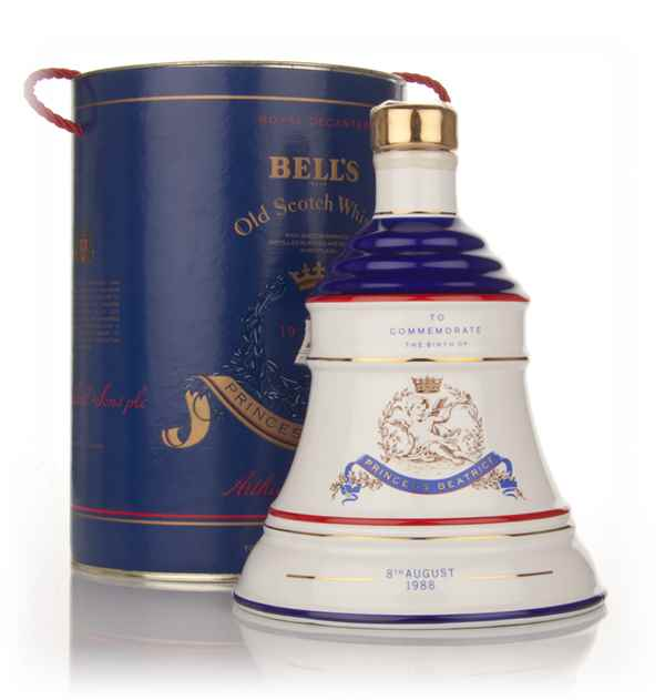 Bell's Princess Beatrice 1988 Decanter