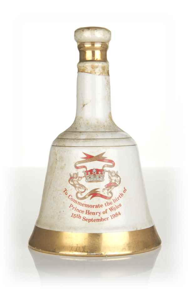 Bell's Prince Henry of Wales Decanter - 1984