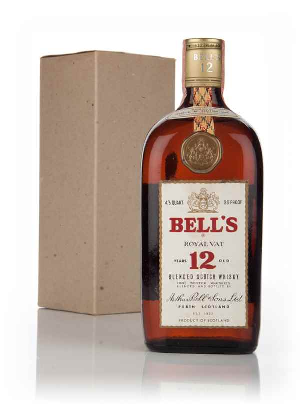 Bell's Royal Vat 12 Year Old - 1960s