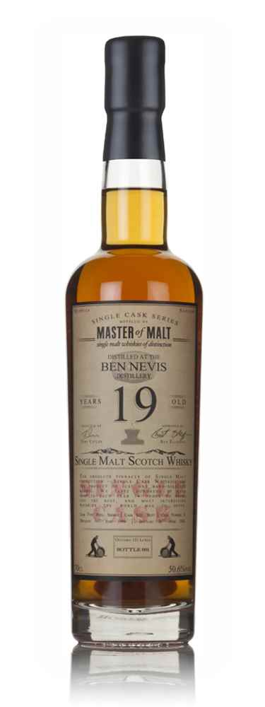 Ben Nevis 19 Year Old 1996 - Single Cask (Master of Malt)