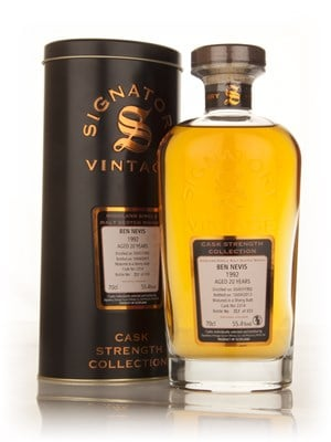 Ben Nevis 20 Year Old 1992 (cask 2314) - Cask Strength Collection (Signatory)