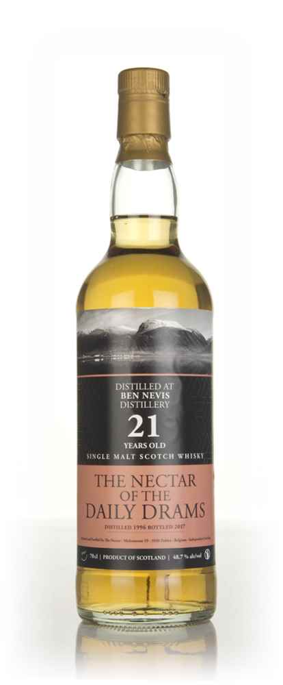 Ben Nevis 21 Year Old 1996 - The Nectar of the Daily Drams