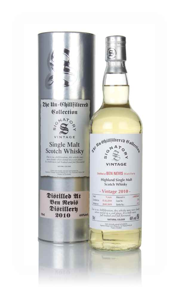 Ben Nevis 9 Year Old 2010 (cask 129) - Un-Chillfiltered Collection (Signatory)