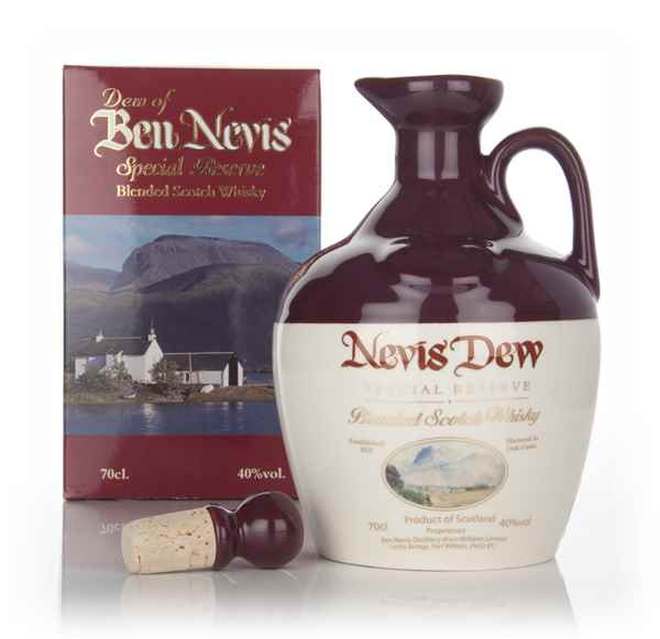 Dew Of Ben Nevis Special Reserve Ceramic Decanter