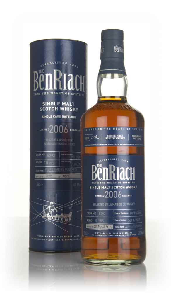 Benriach 10 Year Old 2006 (cask 5293)