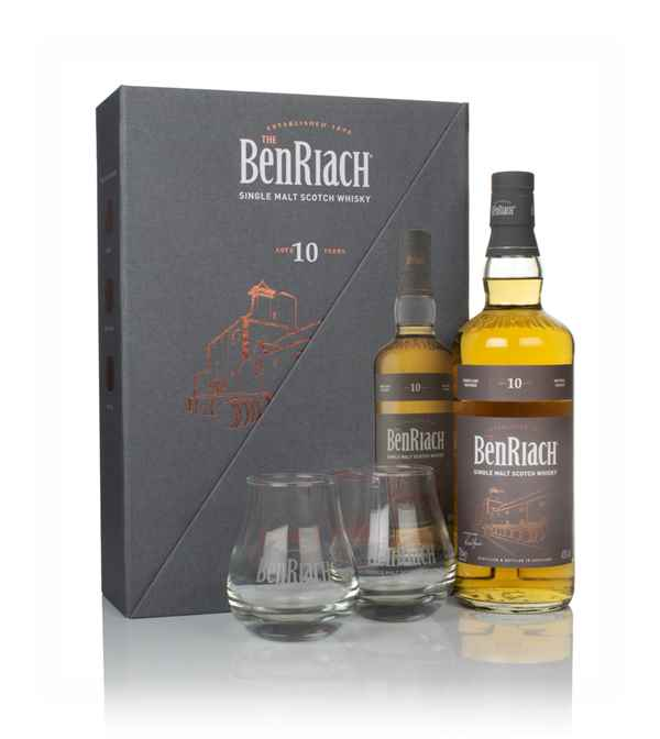 BenRiach 10 Year Old Gift Pack with 2x Glasses