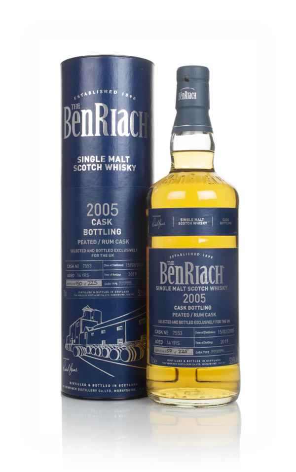 BenRiach 14 Year Old 2005 (cask 7753)