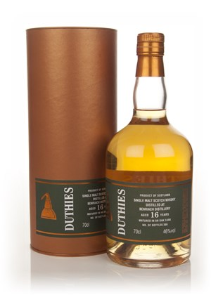 BenRiach 16 Year Old - Duthies (WM Cadenhead)