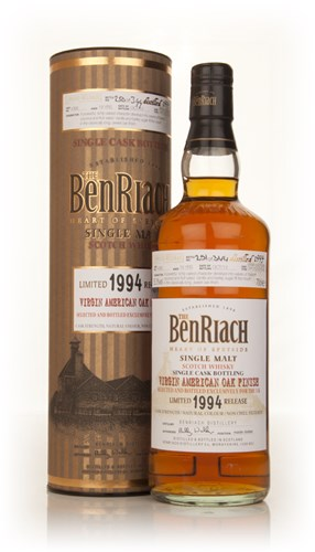 BenRiach 19 Year Old 1994 Virgin American Oak (cask 4386)