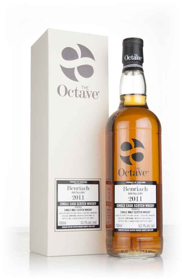 BenRiach 6 Year Old 2011 (cask 7416153) - The Octave (Duncan Taylor)