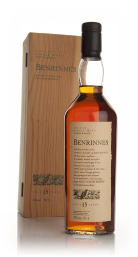 Benrinnes 15 Year Old - Flora and Fauna (Old Bottle)
