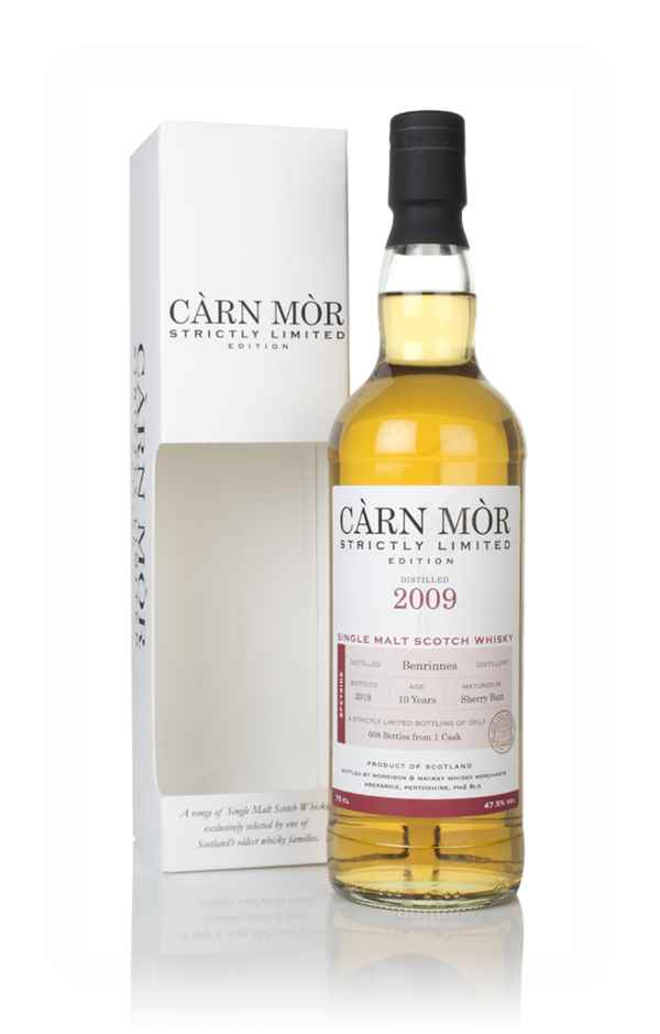 Benrinnes 10 Year Old 2009 - Strictly Limited (Càrn Mòr)