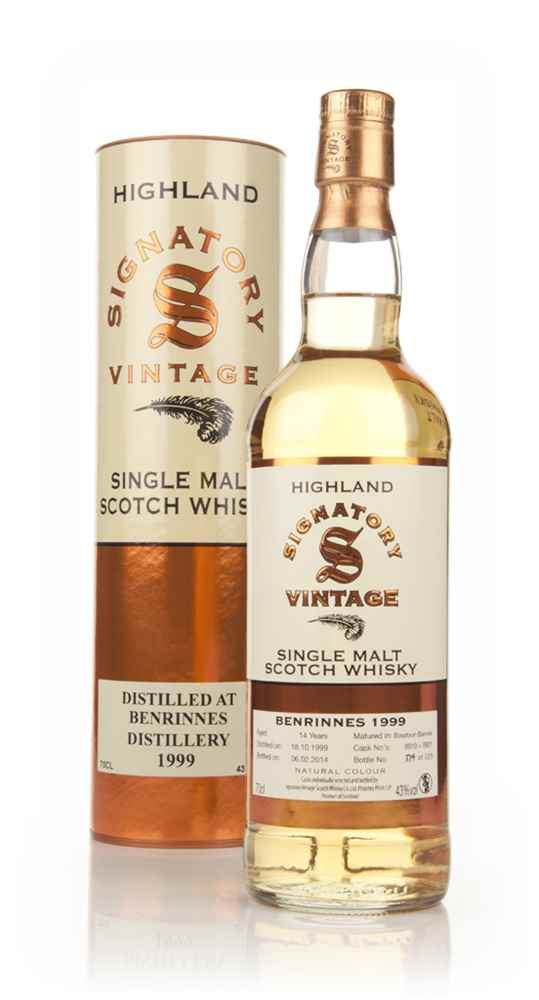 Benrinnes 14 Year Old 1999 (cask 9919+9921) - (Signatory)