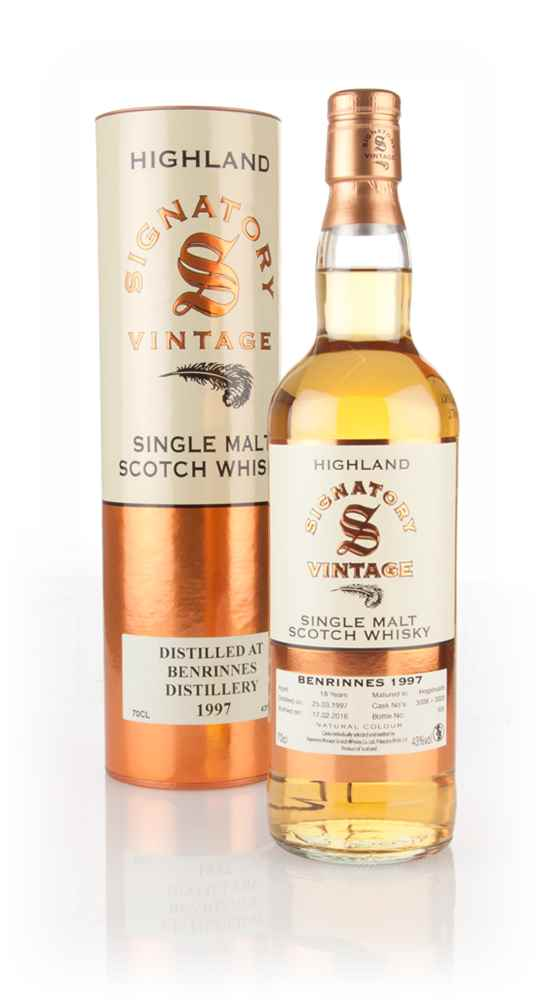 Benrinnes 18 Year Old 1997 (casks 3008 & 3009) (Signatory)