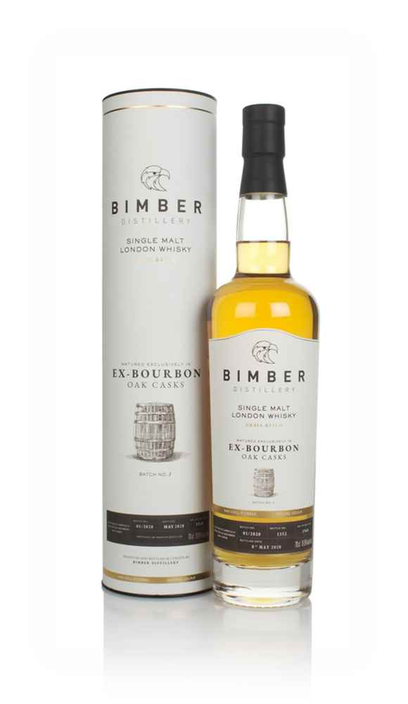 Bimber Ex-Bourbon Oak Casks Batch No.1