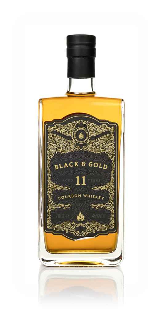 Black & Gold 11 Year Old Bourbon Whiskey
