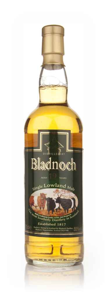 Bladnoch 19 Year Old - Belted Galloway Label
