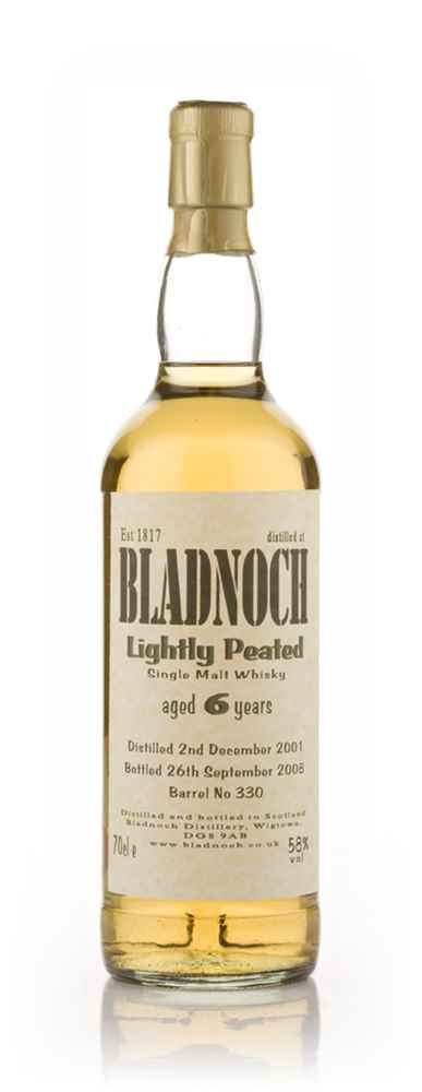 Bladnoch 6 Year Old Lightly Peated
