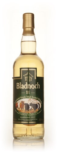 Bladnoch 11 Year Old - Belted Galloway Label