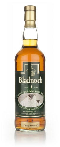 Bladnoch 11 Year Old Sherry Matured - Sheep Label