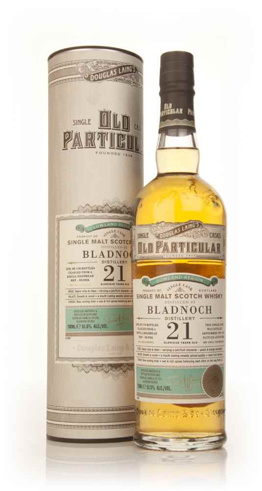 Bladnoch 21 Year Old 1991 (cask 9956) - Old Particular (Douglas Laing)