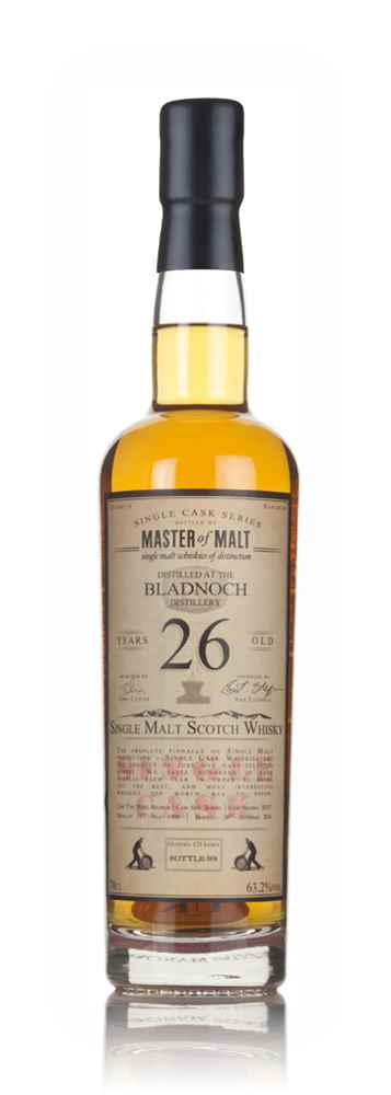 Bladnoch 26 Year Old 1990 - Single Cask (Master of Malt)