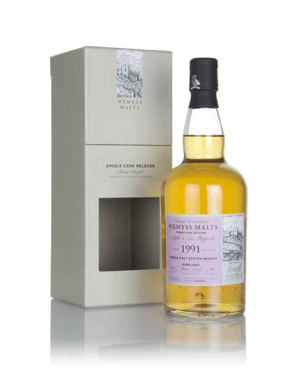 Apple & Nut Flapjack  1991 (bottled 2018) - Wemyss Malts (Blair Athol)