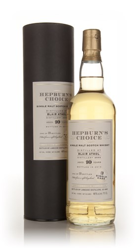 Blair Athol 10 Year Old 2002 - Hepburn's Choice (Langside)