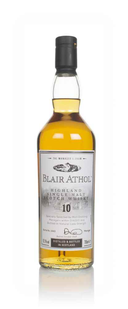 Blair Athol 10 Year Old - The Manager's Dram