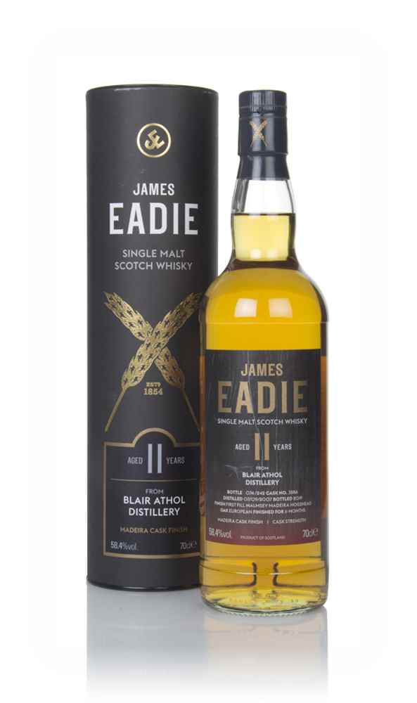 Blair Athol 11 Year Old 2007 (cask 3886) - James Eadie