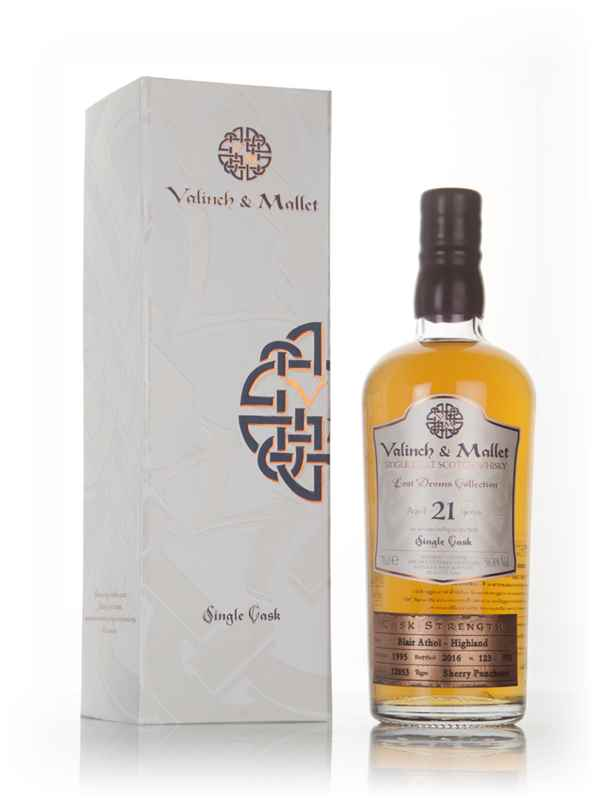 Blair Athol 21 Year Old 1995 (cask 12853) - Lost Drams Collection (Valinch & Mallet)
